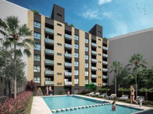 Estas son las ventajas de vivir en un residencial con piscina