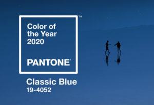 ¿Conoces el Pantone 2020: Classic Blue 19-4052?